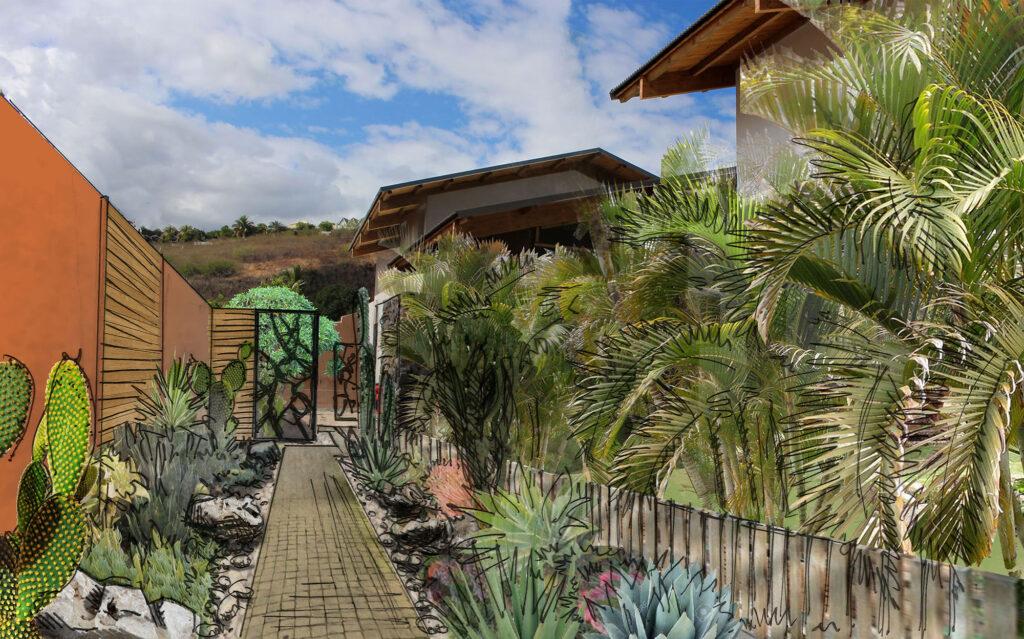 Conseil et accompagnement pour l'aménagement d'un jardin en Gironde par un paysagiste concepteur